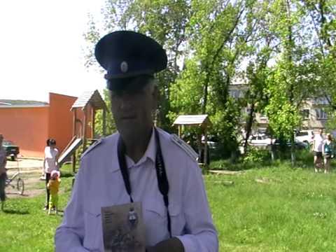 Атаман Травниковской станицы Ткаченко Алексей Иванович (видео)