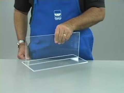 How to glue Acrylic (видео)