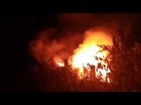 В Сызрани пожарные боролись с огнем за объект культурного наследия регионального значения