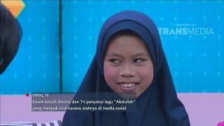 Video RUMPI - Ribuan Endorse Mendatangi Sosok Bocah Yang Viral Menyanyikan Lagu Abdullah (18/9/18) Part 1 MP3, 3GP, MP4, WEBM, AVI, FLV September 2018