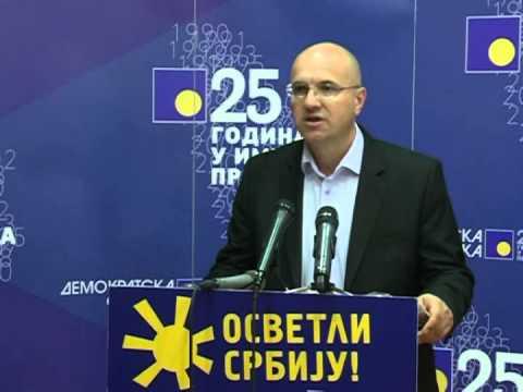Борислав Новаковић: ДС тражи промену изборног система у Војводини