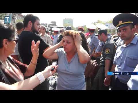 Կոմիտասի պողոտայից բերման են ենթարկվել մի խումբ ակտիվիստներ - DomaVideo.Ru