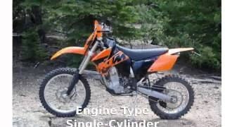 1. 2007 KTM XC 450 Details and Specification - traciada