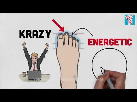 Video What does your foot Fingers say about your personality? पैरों की उंगलियां आपके बारे में क्या कहती है download in MP3, 3GP, MP4, WEBM, AVI, FLV January 2017