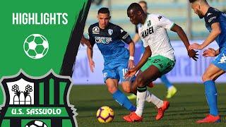 Serie A, highlights Empoli-Sassuolo 3-0