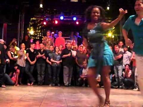 Salsa Contest Final at Cubby Bear Couple No. 8 2011