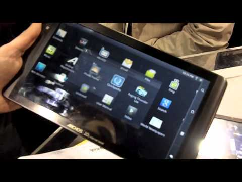 Archos 101 Internet Tablet – Hands-on al CES 2011
