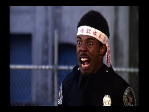 Police Academy 2: Their First Assignment: He thinks he's Bruce Lee.