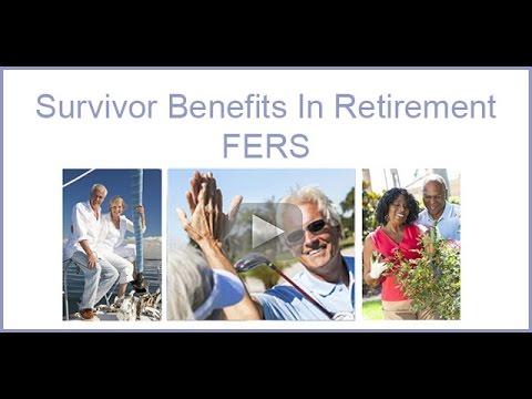 Survivor Benefits In Retirement   FERS
