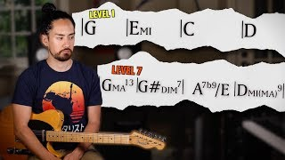 7 Levels Of Chord Progression Complexity