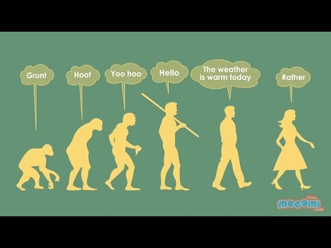 Evolution of Language | Mocomi Kids