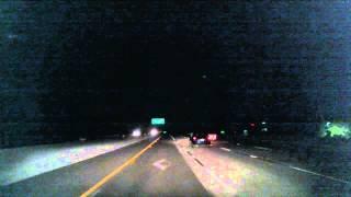 Folsom (CA) United States  city photos : Driving from Folsom, CA to Sacramento, CA, USA at night