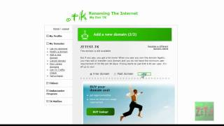 How To: Get a FREE .tk domain name (.tk)