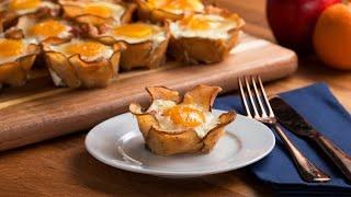 Potato Flower Breakfast Cups by Tasty