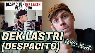 DEK LASTRI Despacito Versi Jawa (Reaction Video)