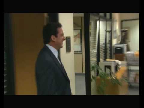 The Office - Stanley the manly - Blooper