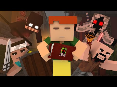 """♫ """"ENTITY 303"""" - A Minecraft Parody of One Direction's Drag Me Down"""