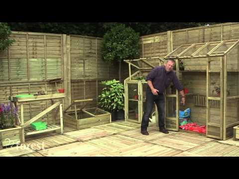 Video of Potting Bench