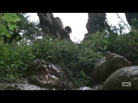 Walking Dead Season 9 Episode 6 Ending Whispers Speaking Scene