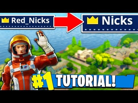 How To Get an OG NAME in Fortnite: Battle Royale! (Tutorial)