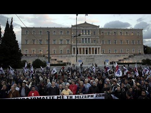 Αθήνα: Συλλαλητήριο του ΠΑΜΕ στο Σύνταγμα