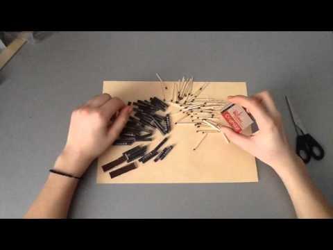 Как сделать петарду из 1 коробка спичек