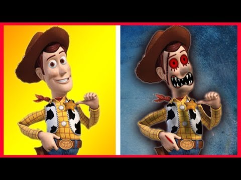 Toy Story 4 Characters HORROR VERSION 😲😲😲