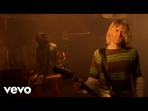 Nirvana: Smells Like Teen Spirit ( (C) 1991 Geffen Re ...