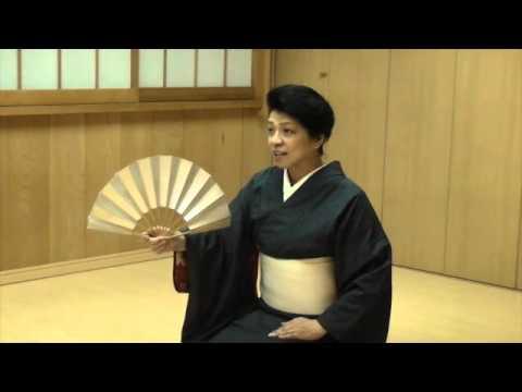 日本舞踊の基本その1