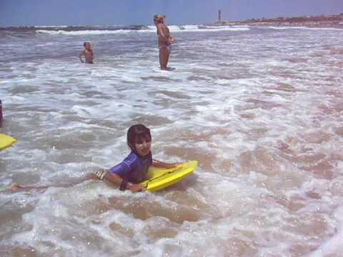Nanati - Surfing in José Ignacio (видео)