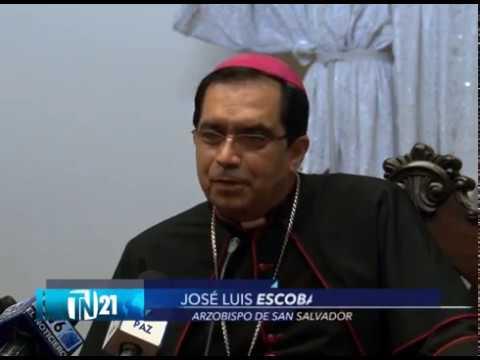 Arzobispo José Luis Escobar Alas pode transparencia en elecciones internas de partidos políticos