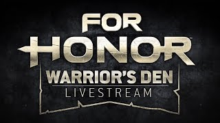 Join For Honor's Community Developers for a weekly stream where they provide news, info, developer interviews, and gameplay with the Community! Every week 12-1pm EST (17:00-18:00 UTC).