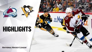 Avalanche @ Penguins 10/16/19 Highlights by NHL