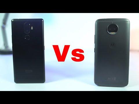 Moto G5s Plus vs Lenovo K8 Note Speed Test
