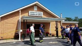 1 dead, 8 hurt in church shooting