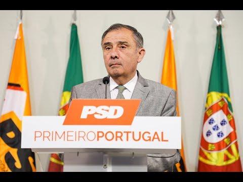 Conferência de imprensa do Secretário-Geral José Silvano
