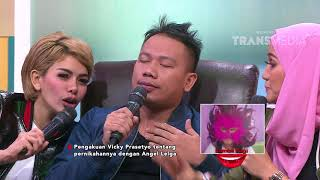 Video PAGI PAGI PASTI HAPPY - Vicky Sudah Nikahi Angel Lelga? (18/12/17) Part 2 MP3, 3GP, MP4, WEBM, AVI, FLV Oktober 2018