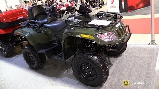 6. 2014 Arctic Cat TRV 500 Recreational ATV - Walkaround - 2015 Salon Moto de Quebec