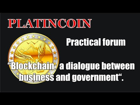 "PLC Group AG  Practical forum ""Blockchain׃ a dialogue between business and government"""