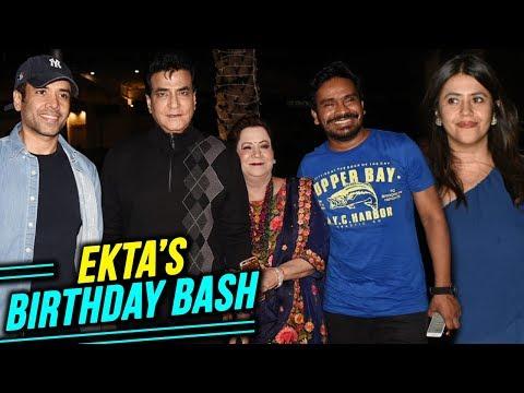 Ekta Kapoor Birthday Celebration With Family