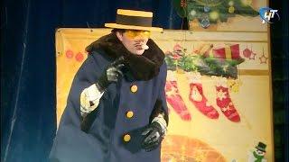 В минувшие выходные в Великом Новгороде дан старт новогодним торжествам