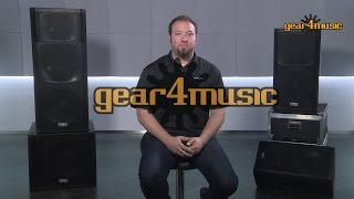 Chris Broulette discusses the QSC KW Series PA Speakers. http://www.gear4music.com/Active_PA_Speakers/QSC.html QSC ...