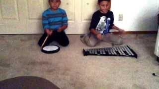 Video Animals by Martin garrix played by 10 year old and 7 year old on bell kit and drum pad MP3, 3GP, MP4, WEBM, AVI, FLV November 2017