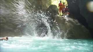 Alegria Philippines  City new picture : canyoneering in Badian/Alegria Cebu Philippines