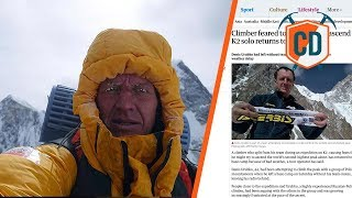 Drama On The World's Most Dangerous Mountain   Climbing Daily Ep.1118 by EpicTV Climbing Daily