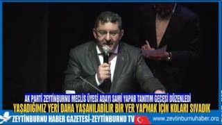 AK Parti Zeytinburnu MeclisÜyesi Adayı Sami Yapar'ın Tanıtım Toplantısı