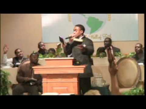 Pastor Derrick M. Chapman - By any means Necessary #1