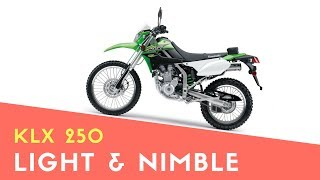 8. 2018 KAWASAKI KLX250 PRICE REVIEW