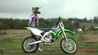 10. Kawasaki KLX450R - Monster Energy Kawasaki Pro Rider Impressions