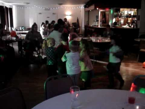 "Conga. Children's Birthday Party for Jake, aged 6. Hosted by ""kids DJ"" Steve Neary. www.kidsDJ.co.uk"